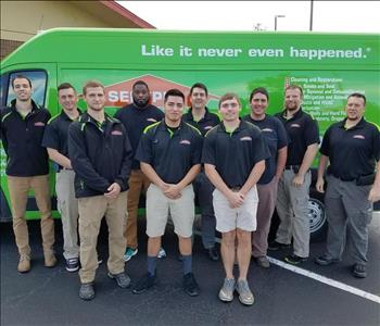 Our Water Damage Team 2017